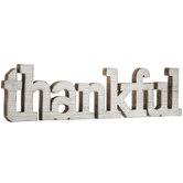 Thankful Wood Decor
